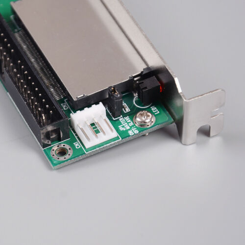 40-Pin CF compact flash card to 3.5 IDE converter adapter PCI bracket back pNB9