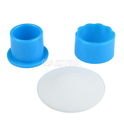 10X Dental Autoclavable Round Endo Stand Cleaning Clean Foam Sponges File Holder 4