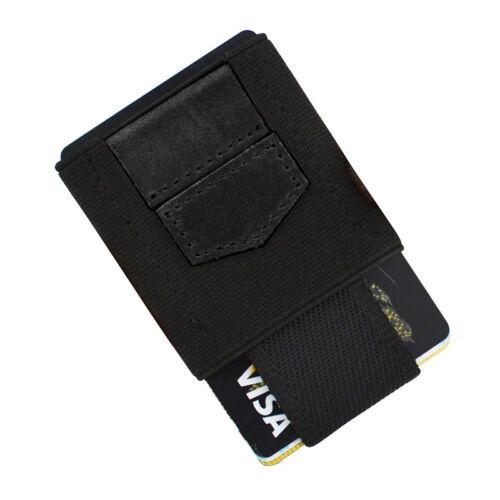 Front Pocket Minimalist EDC Slim Wallet 15 Card Holders for Men Cash Coins KeyJH