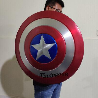 1:1 Avengers Captain America Shield Alloy Metal Version Cosplay Prop Display 2