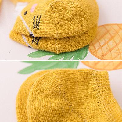5 Pairs Baby Boy Girl Cartoon Cotton Ankles Socks Newborn Infant Toddler Soft 11