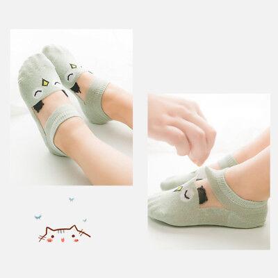 5 Pairs Baby Boy Girl Cartoon Cotton Ankles Socks Newborn Infant Toddler Soft 6