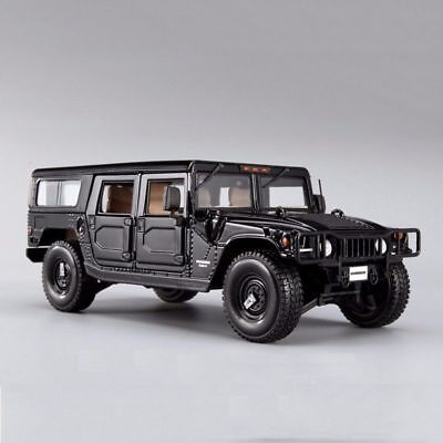 1/18 Diecast Maisto Black Hummer H1 Car Model Alloy SUV Vehicle Toy Gift Collect 9