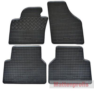 ab 2007 Gummimatten Fußmatten Gummi 4-teilig für VW Tiguan Bj