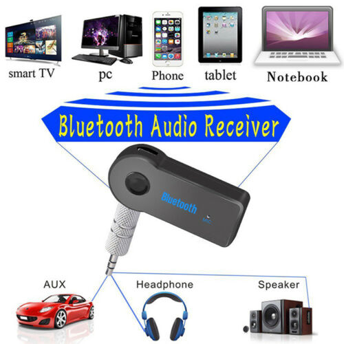Mini Wireless Bluetooth Car Kit 3.5mm Dongle Jack Aux Audio Receiver Adapter ** 4