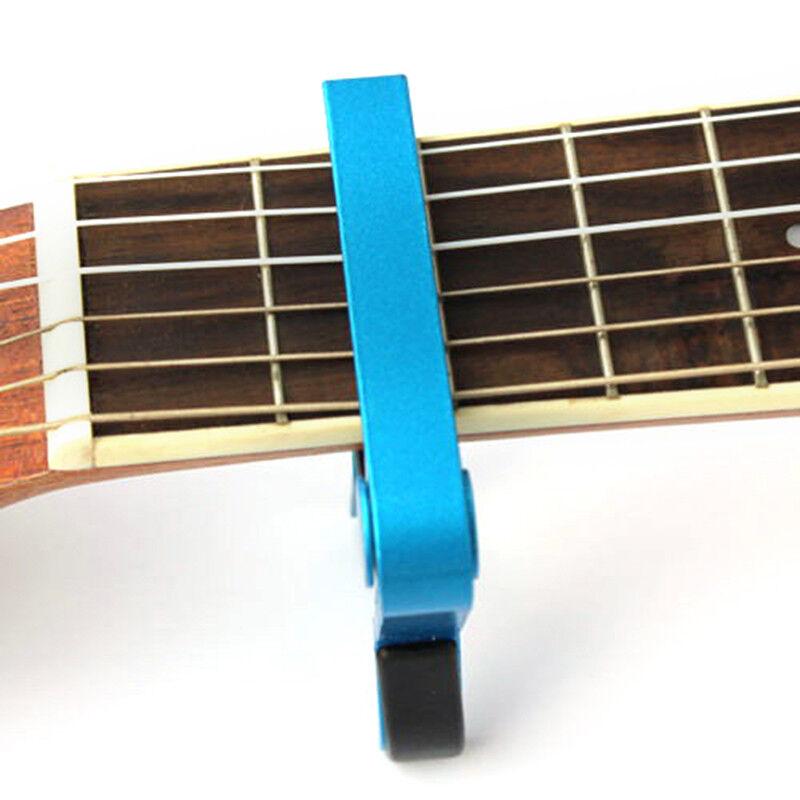 Advanced Guitar Capo Quick Change Tune Clamp Acoustic Electric Classic Guitar E& 5