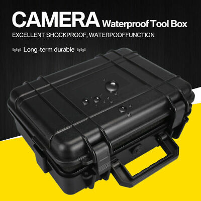 Protective Equipment Hard Carry Case Plastic Box Camera Travel Protector 2 Sizes 3