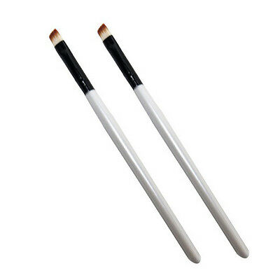 5Pc Professional Elite Angled Eyebrow Brush Nice Eye Liner Brow Makeup Tool
