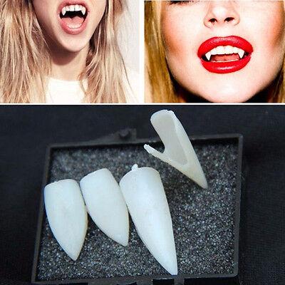 Unisex Halloween Prop 4pcs Vampire Fangs Teeth Tooth Fancy Dress Party Costume