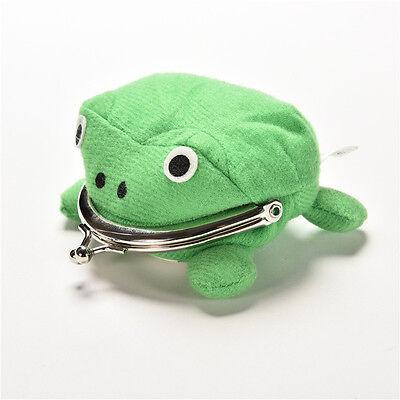 Uzumaki Naruto Frog Shape Cosplay Coin Purse Wallet Soft Furry Plush Gift PLUS 2