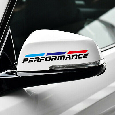 Reflective Tape Side Rear View Mirror Sticker Decal Universal For BMW 3 5 Series 2