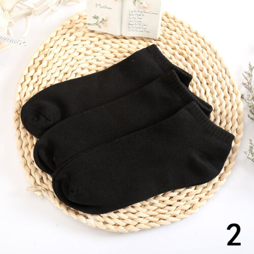 WHOLESAL! 5-12 Packs Ankle Socks Cotton Mens Womens Low Cut Dozen Stretch RR US 7