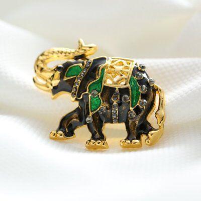Rhinestone Crystal Animal Frog Turtle Elephant Cat Dog Brooch Pin Women Jewelly 10