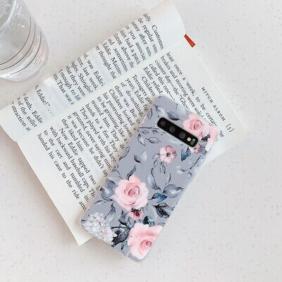 Shockproof Flower Slim Phone Case Cover For Samsung Galaxy S10 Plus A70 A50 S9 6