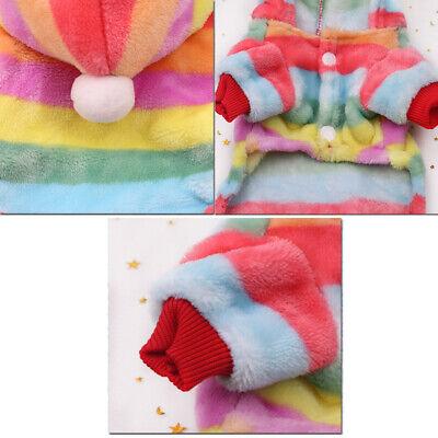 Soft Puppy Sweater Dog Clothes Spring Jumpsuit Cat Pet Warm Coat Jacket Pajamas 7