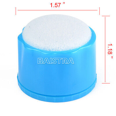 10X Dental Autoclavable Round Endo Stand Cleaning Clean Foam Sponges File Holder 3