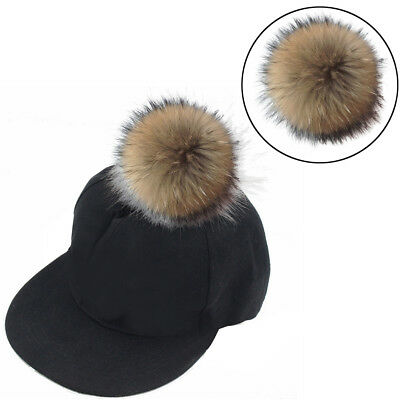 New Detachable Coloured Faux Fur Pom Poms For Hats And Clothes 6