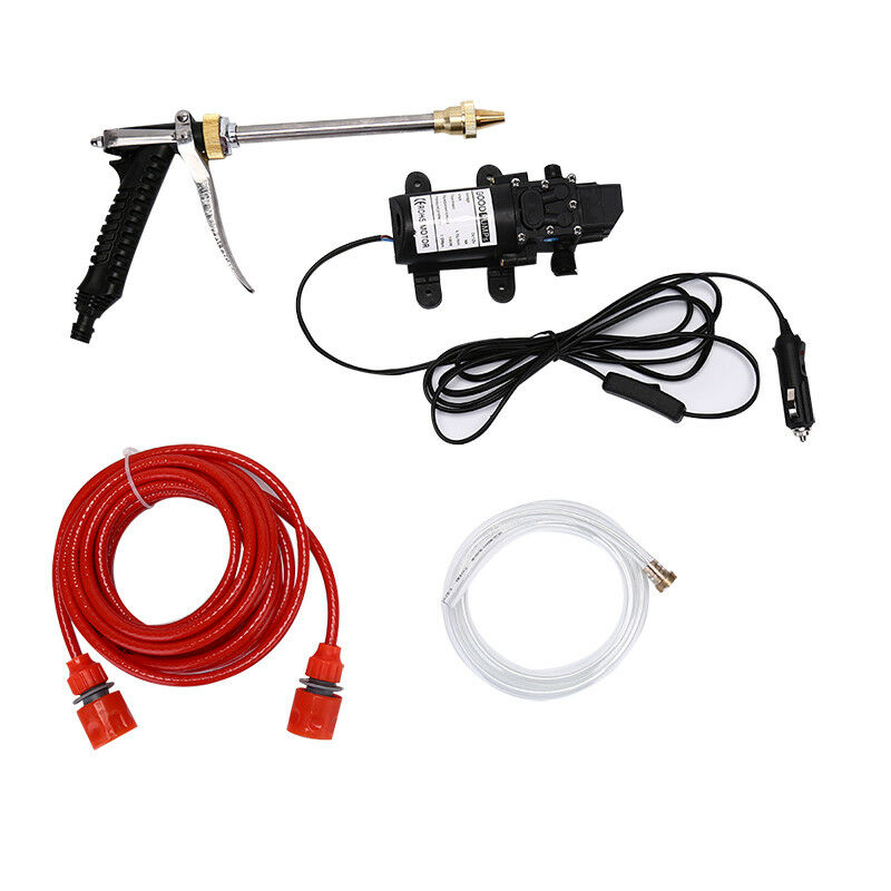 12V 100W 160PSI High Pressure Car Washer Cleaner Water Wash Pump Sprayer Too LC 2