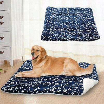 Pet Washable Home Blanket Large Dog Bed Cushion Mattress Kennel Soft Crate Mat 2