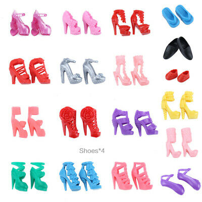 Barbie Doll Dresses, Shoes and jewellery Clothes Accessories 85pcs/Set 4