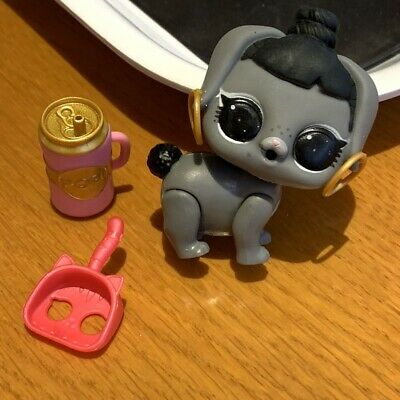 2Pcs LOL Surprise doll /& pet Honey Bun and Bunny Hun Pet animal Family toys