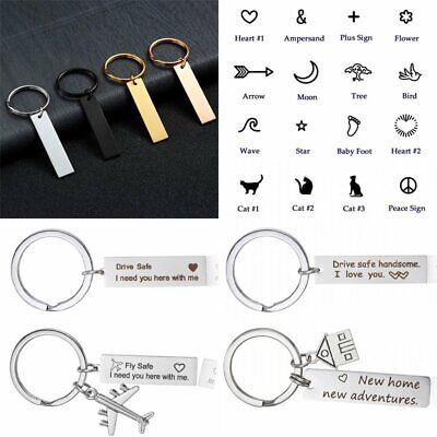 Drive Safe I Need You Here With Me Keyring Keychain Stainless Steel Key Rings 3