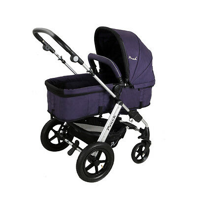 New 2 In 1 Baby Toddler Pram Stroller Jogger Aluminium With Bassinet 5 Colors 8
