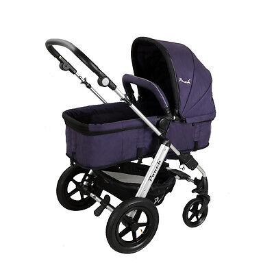 New 2 In 1 Baby Toddler Pram Stroller Jogger Aluminium With Bassinet 5 Colors 8