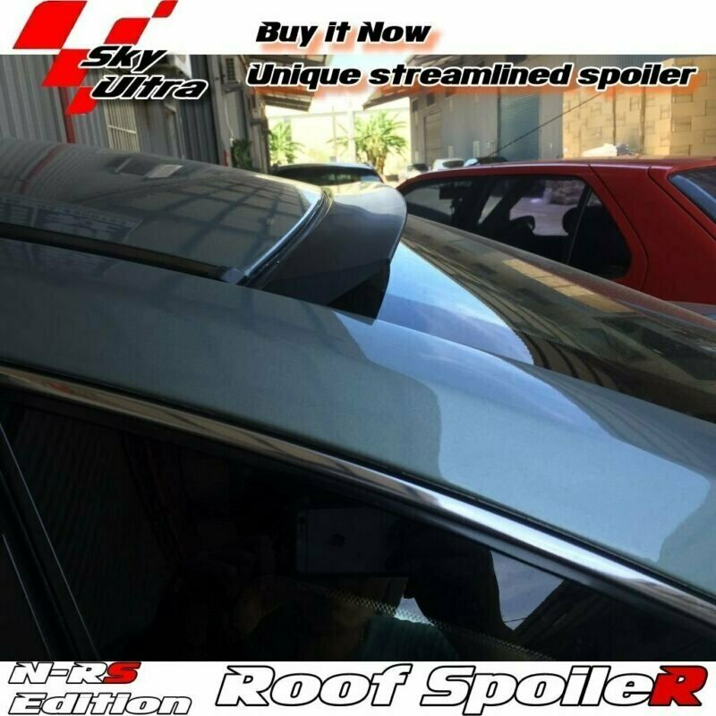 148 Unpainted NRS Rear Roof Spoiler For Honda Civic 7 US Coupe 2001-2005 ✰