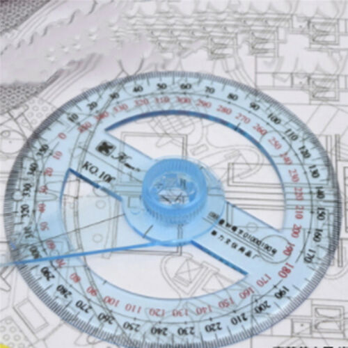 Useful Measuring Tools Swing Arm Protractor Angle Finder Ruler 360 Degree Shan 8