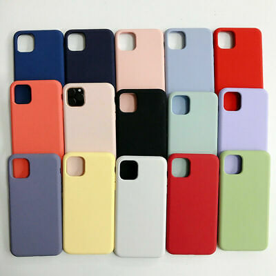 Case For Apple iPhone 11 Pro Max XS Max XR X 8 7 6S Plus Silicone TPU Slim Cover 3
