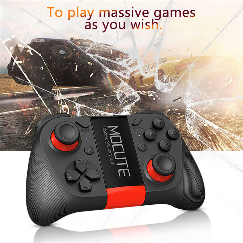WIRELESS BLUETOOTH VR Remote Controller Gaming Joystick Gamepad for IOS  Android