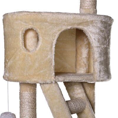Eck-Kratzbaum Katzenkratzbäume Katzenbaum Kletterbaum Spielbaum Sisal Deckenhoch 6