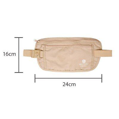 RFID Travel Waist Bum Bag Anti Theft Pouch Belt Passport Holder Safe Strap Sport 3