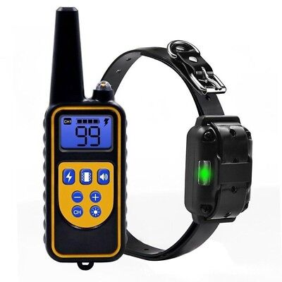 Dog Shock Collar With Remote Waterproof Electric for Large 880 Yard Pet Training 6