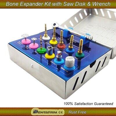 Bone Expander Trephine Sinus Lift Saw Disk Dental Implant Oral 12 Pcs Kit 3