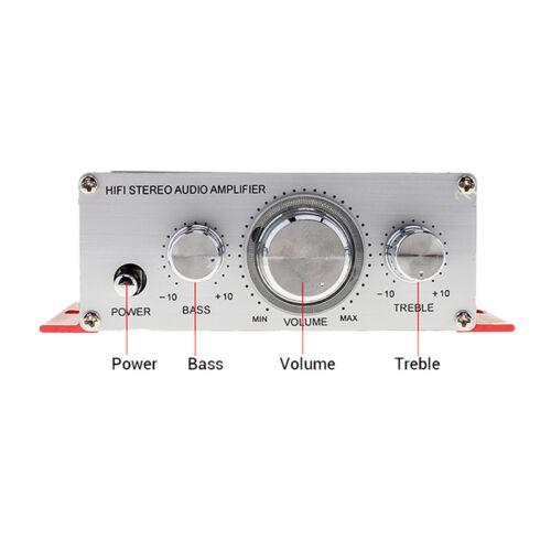 Hi-Fi Bass Tuning 12V Mini Auto Auto Stereo Verstärker 2 Kanal Audio Subwoo CBL