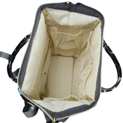 LEQUEEN Mummy Diaper Bag Backpack Maternity Nappy Baby Bags+ 2 Stroller Hooks 11