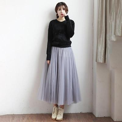 Fashion Multi Layers Skirt Womens Tutu Cocktail Party Dresses Tulle Skirts LG 7