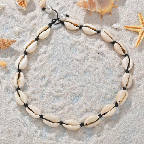 Natural Cowrie Sea Shell Choker Necklace Boho Surfer Beach Tribal Puka Jewelry 7
