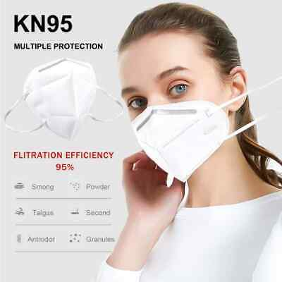 10 PCS KN95 Disposable Face Mask Mouth Cover Protective Respirator K N95 2