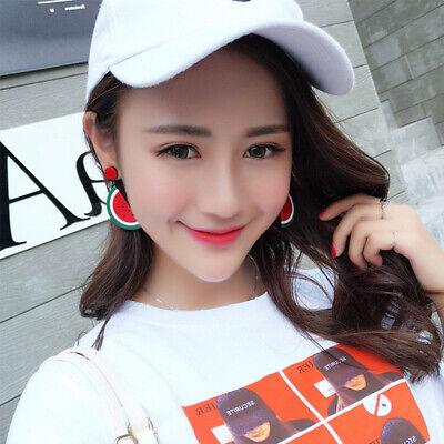 Fashion Women Delicious Fruit Acrylic Pendant Dangle Ear Studs Earrings Jewelry 12