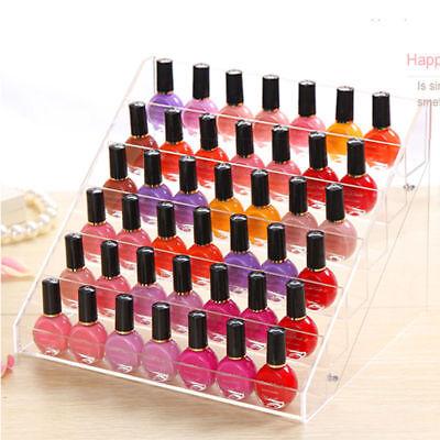 6 Layers Acrylic Nail Polish Rack Stand Holder Cosmetics Display  Organizer 7