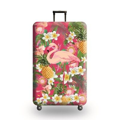 Printed Flamingo Suitcase Protective Cover Dust proof Travel Luggage Cover 18-32 3
