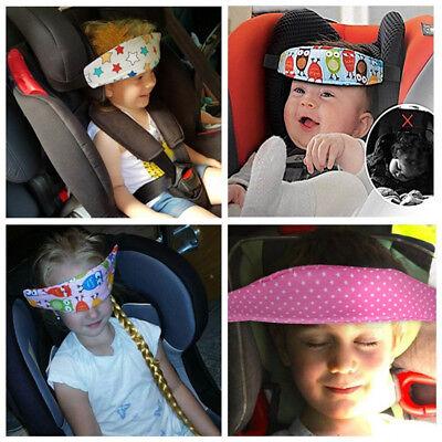 Baby Car Sleep Positioner Head Support Stroller Seat Fastening Belt Sleep Safety 4
