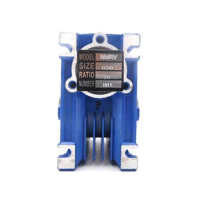 NMRV030 Worm Gear Reducer 56B14 Ratio 15 20 30 40 50:1 for Asynchronous Motor 5