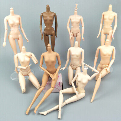 """1/6 Joint DIY Movable Nude Naked Doll Body For 1:6 BJD Dollhouse DIY Body 11.5"""" 3"""