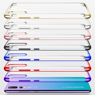 For Huawei P Smart Plus 2019/ P20 Lite Pro Plating Silicone Hybrid Case Cover 12