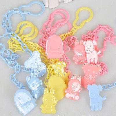 Infant Dummy Schnuller Schnuller Kette Clip Halter Kleinkind Spielzeug#g eNwrg