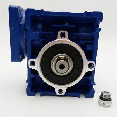 5:1 Worm Gear Reducer Speed Gearbox NMRV030 for NEMA23 Sevor / Stepper Motor 8